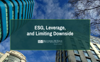 ESG, de-risking, and staying out of market tailspins